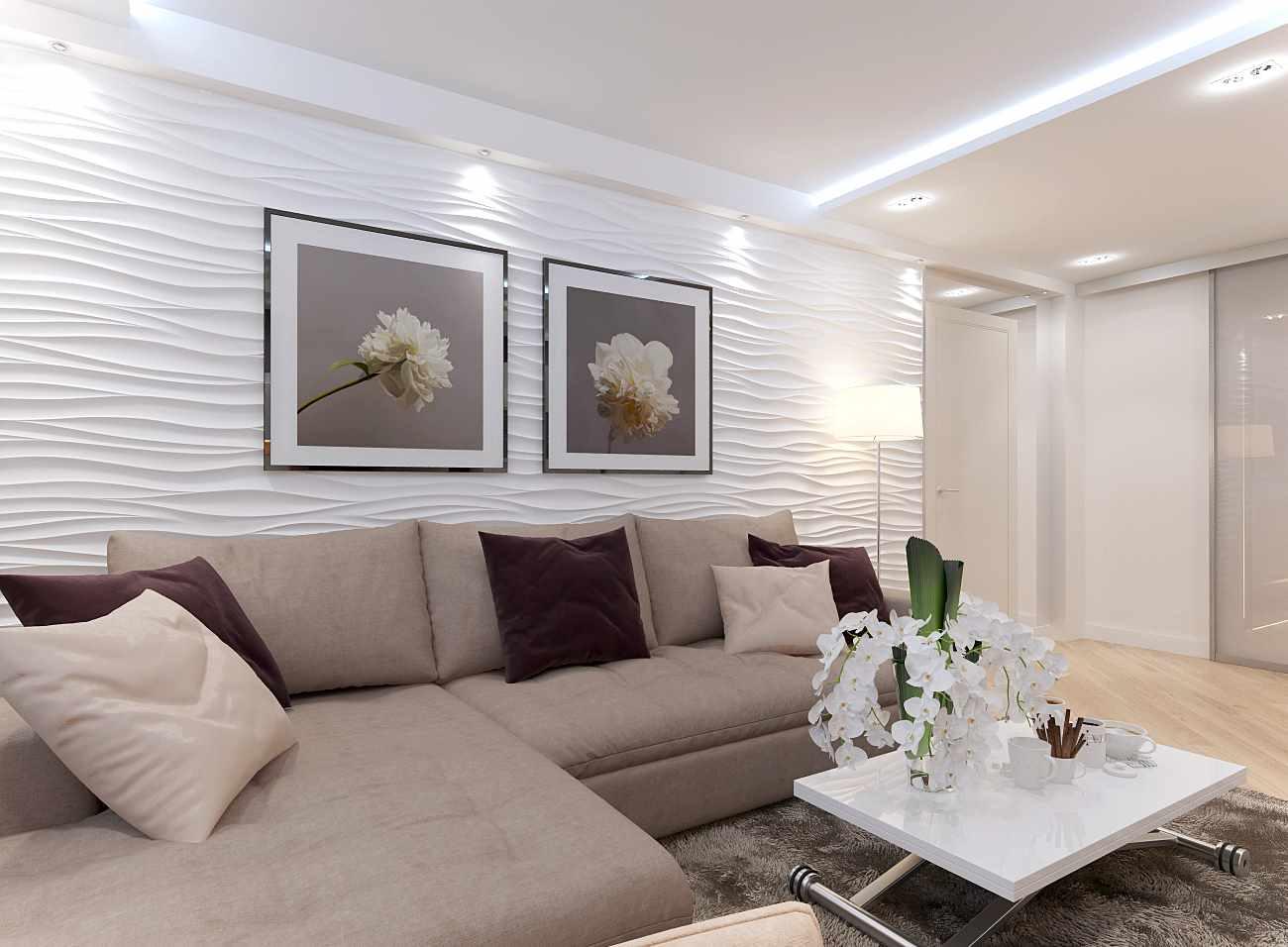 ý tưởng trang trí phòng khách đẹp 19-20 m2