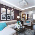 phiên bản thiết kế đẹp của phòng khách hình ảnh 19-20 m2