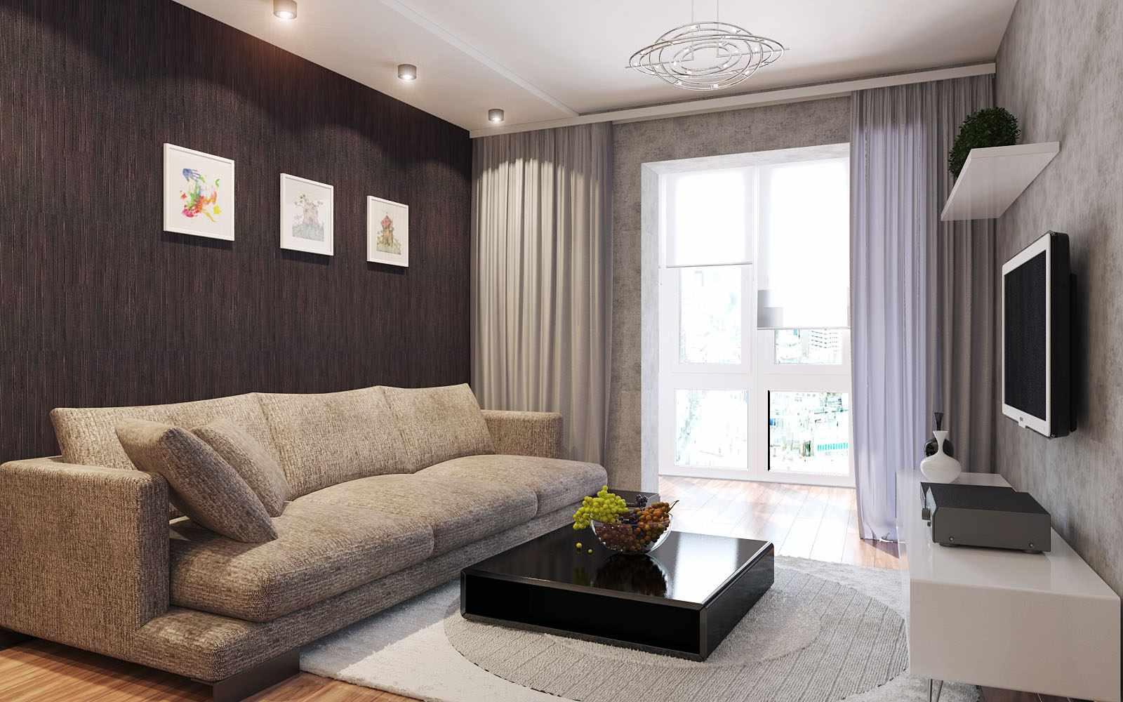 idée d'un intérieur insolite d'un séjour 17 m²