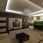 exemple d'un design insolite d'un salon photo de 16 m²