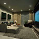 l'idée d'un beau salon de style photo 16 m²