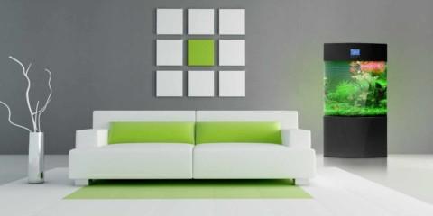 l'idée d'utiliser un décor insolite d'un salon dans le style du minimalisme photo