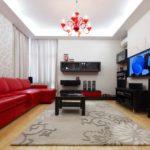 tùy chọn phong cách ánh sáng phòng khách hình ảnh 19-20 m2