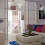 ý tưởng về một phòng khách đẹp theo phong cách 19-20 m2