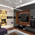 idée d'un beau décor d'un salon photo 17 m²