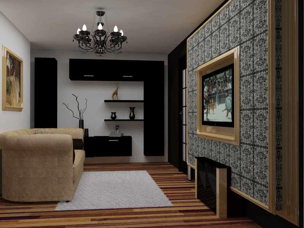 version du beau design du salon 17 m²