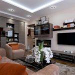 một ví dụ về phong cách đẹp của phòng khách hình ảnh 19-20 m2