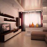 l'idée d'un beau décor du salon photo 17 m²