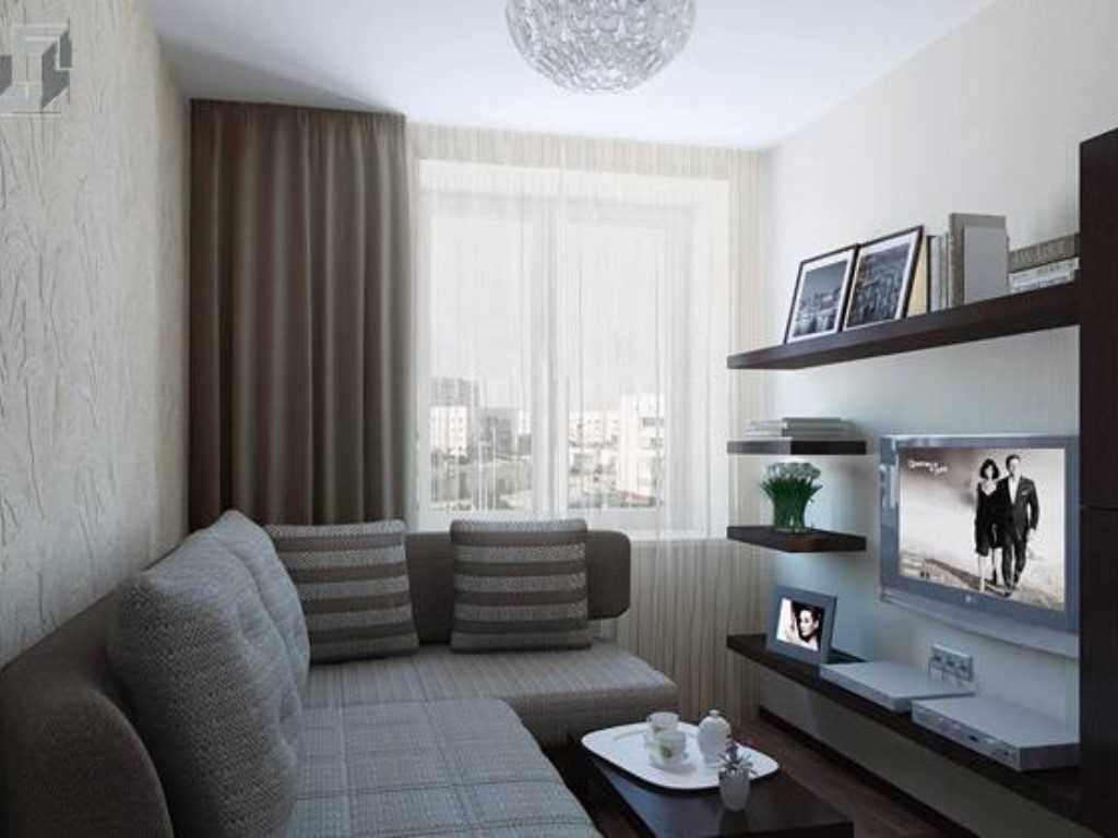 possibilité d'un décor lumineux d'un séjour 17 m²