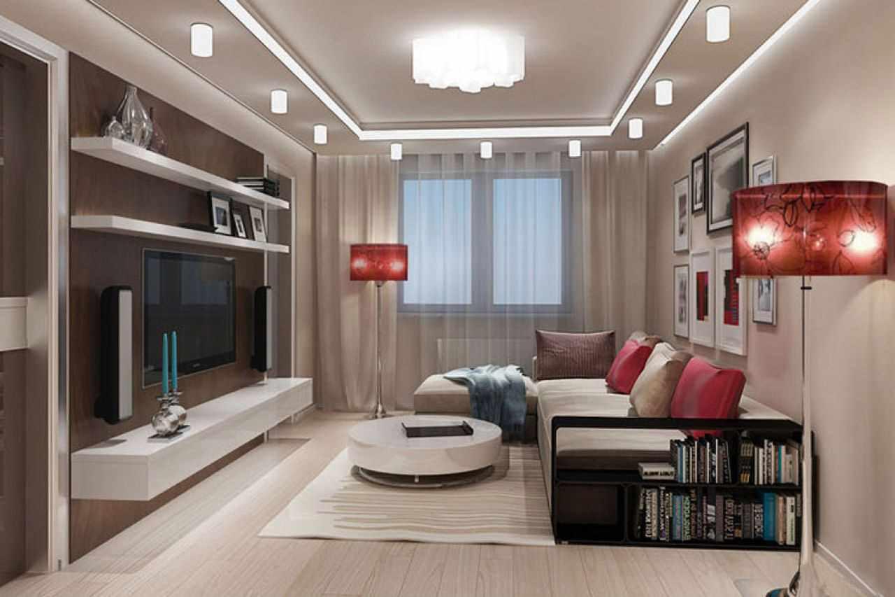 idée d'un décor lumineux d'un salon 16 m²