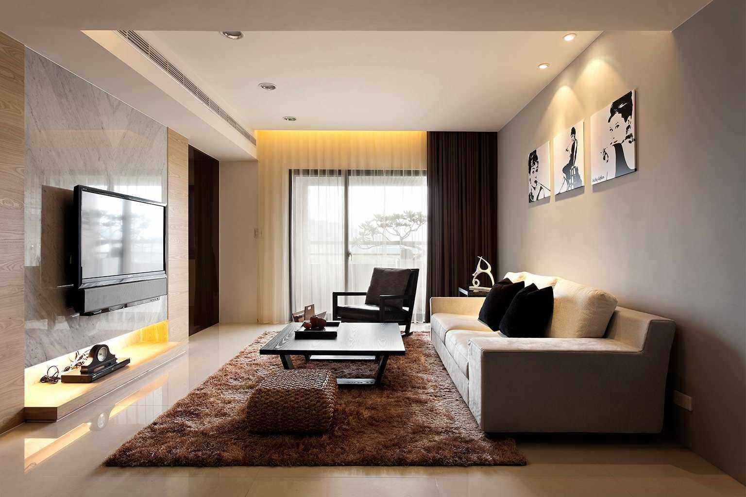 phiên bản phong cách đẹp của phòng khách 19-20 m2