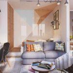 ý tưởng về một phòng khách nội thất khác thường hình ảnh 19-20 m2