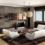 exemple d'un beau décor d'un salon photo de 25 m²