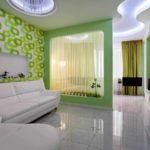 l'idée d'un design lumineux d'un salon 16 m² photo