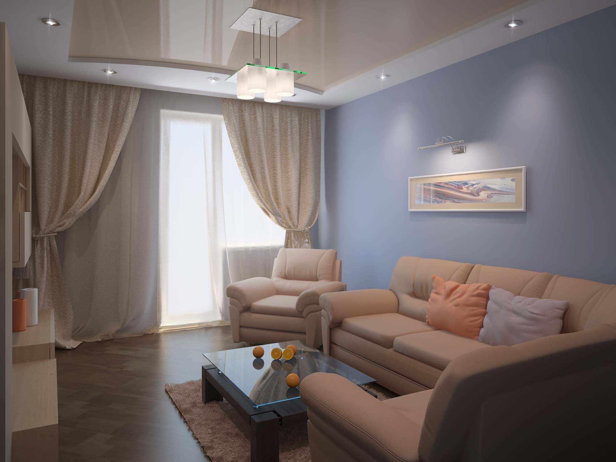 idée d'un intérieur insolite d'un séjour 16 m²