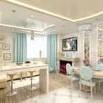 l'idée d'un salon lumineux de 25 m² photo