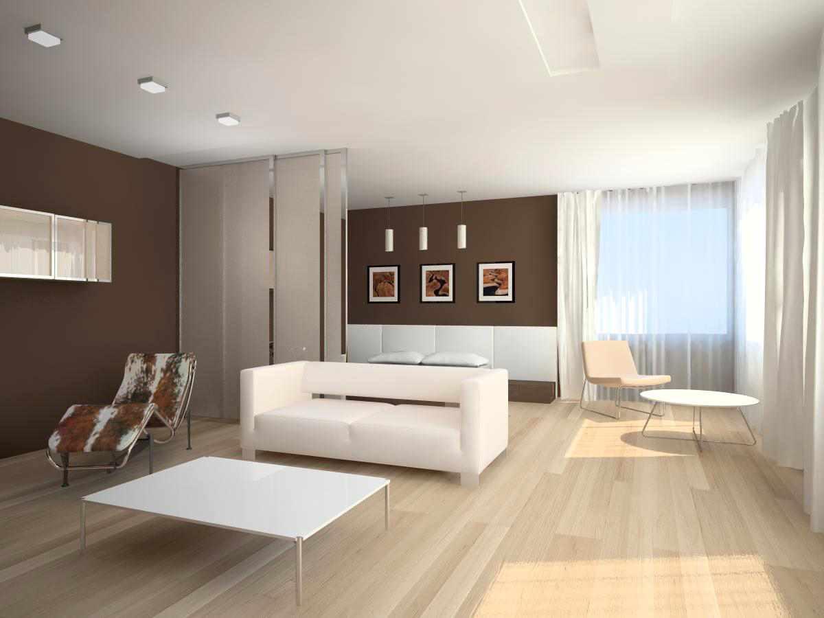 lựa chọn sử dụng thiết kế phòng khách nhẹ nhàng theo phong cách tối giản