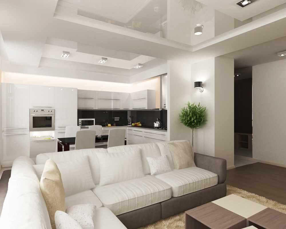 exemple d'un décor insolite d'un séjour 17 m²