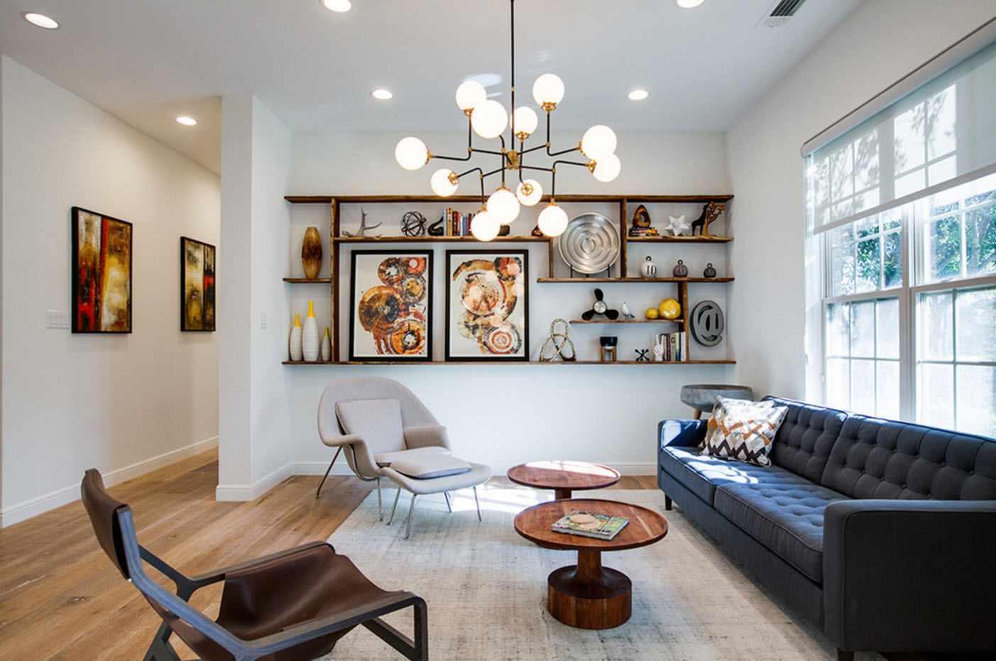 exemple du design lumineux du salon 2018