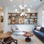 Un exemple d'un bel intérieur d'un salon photo de 17 m²