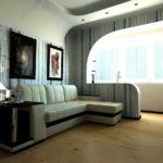 idée d'un bel intérieur d'un salon photo 17 m²