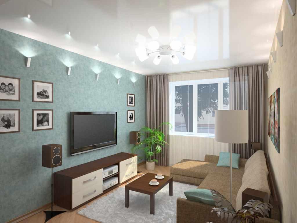 variante d'un intérieur lumineux d'un séjour 17 m²