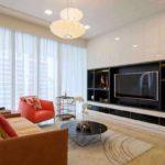 ví dụ về nội thất khác thường của phòng khách ảnh 19-20 m2