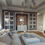 idée d'un intérieur insolite d'un salon photo de 25 m²