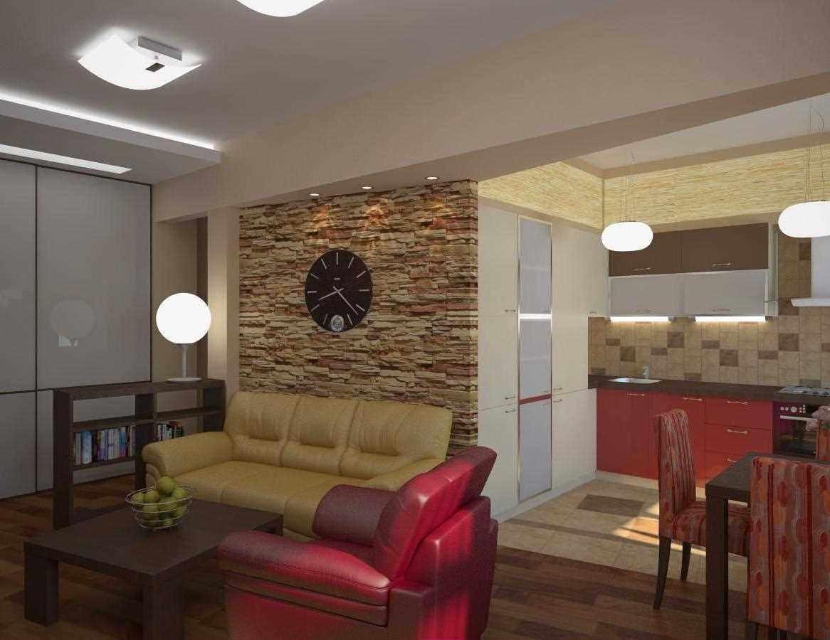 variante d'un décor lumineux d'un salon de 25 m²