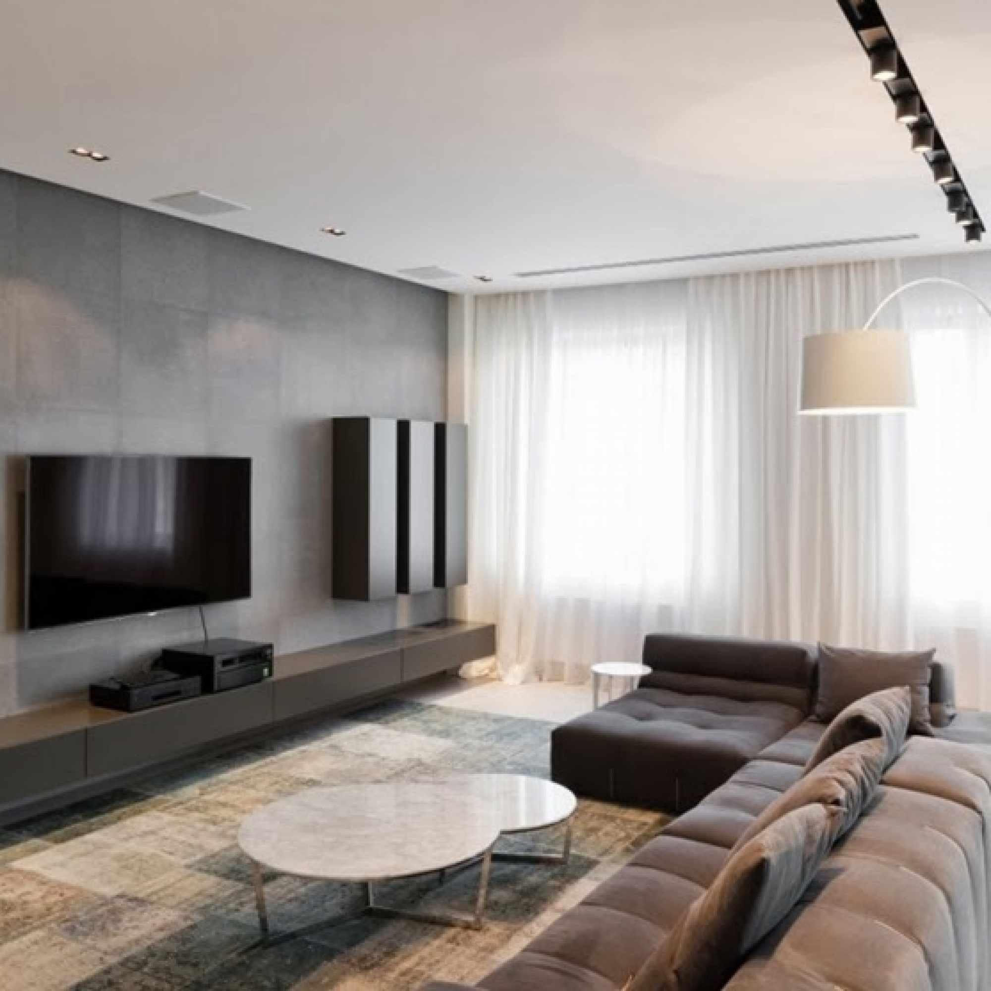 ý tưởng áp dụng thiết kế ánh sáng của phòng khách theo phong cách tối giản