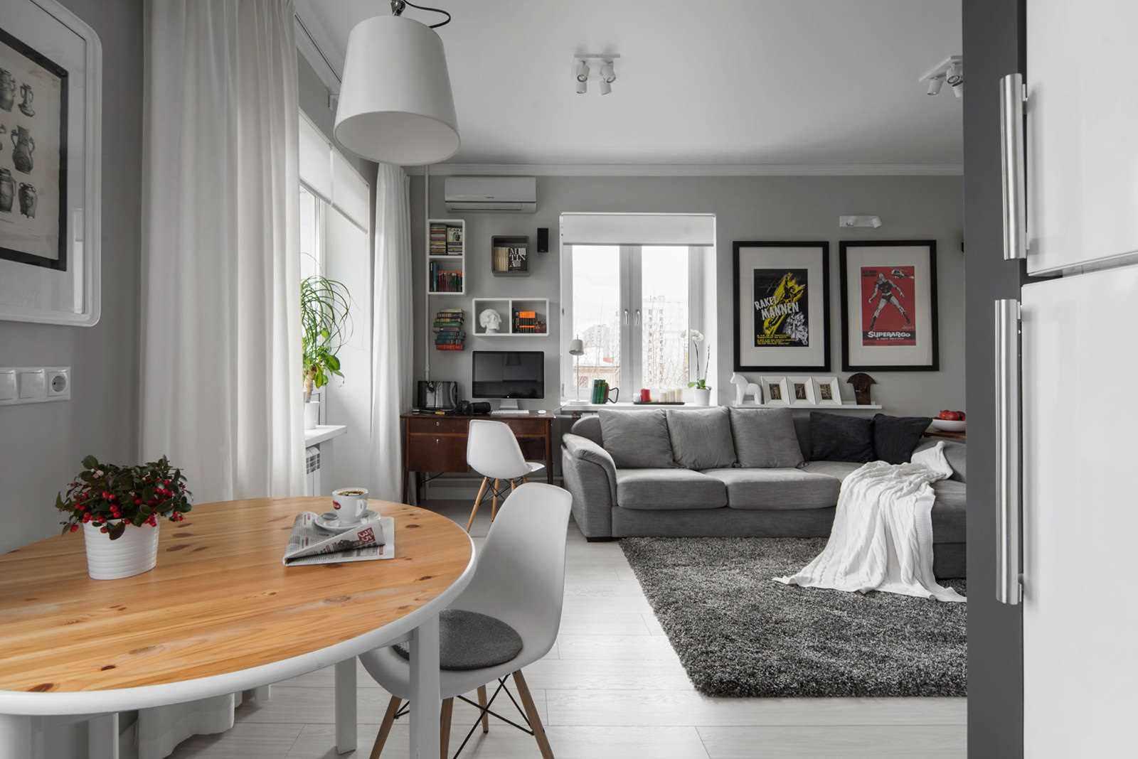 variante du style insolite du salon 25 m²