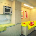 ý tưởng về một phong cách khác thường của một phòng khách ảnh 19-20 m2