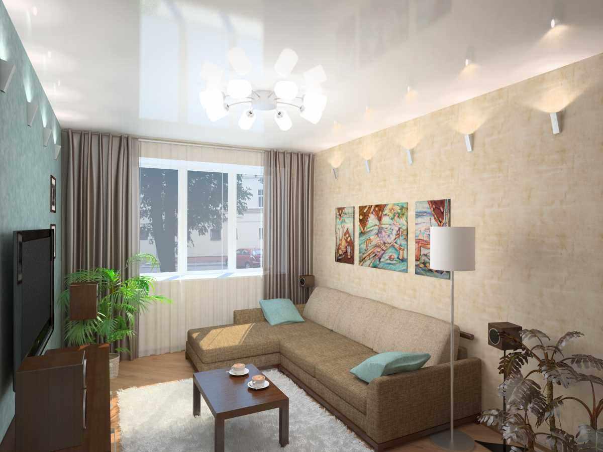 idée d'un décor lumineux d'un séjour 17 m²