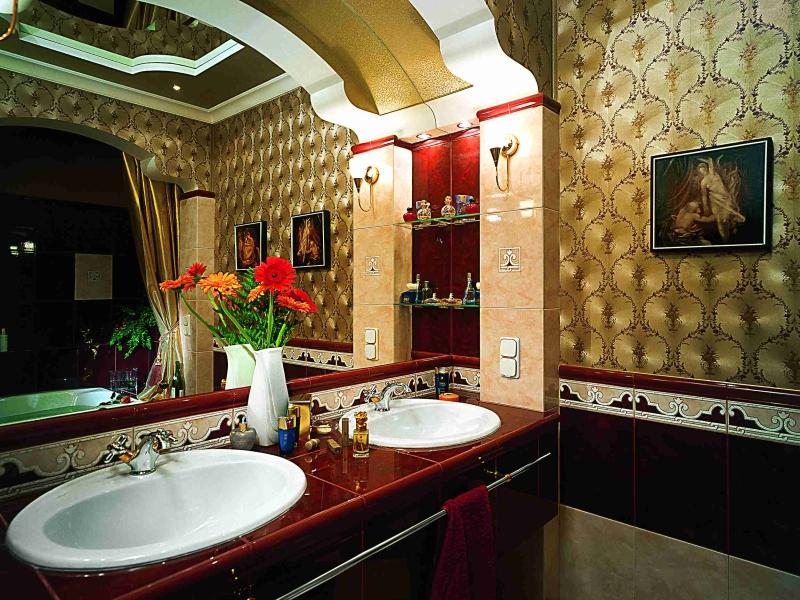 Finition salle de bain style Empire