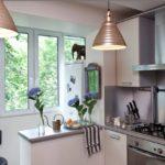 Balcon cu frigider la distanță pentru o bucătărie combinată