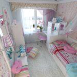 Petite chambre pour votre fille bien-aimée