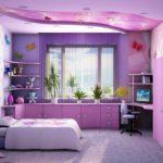 Fleurs fraîches dans la conception de la chambre des enfants