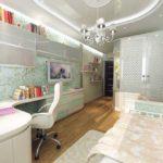 Chambre Fille Art Nouveau