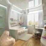 Plafond miroir blanc