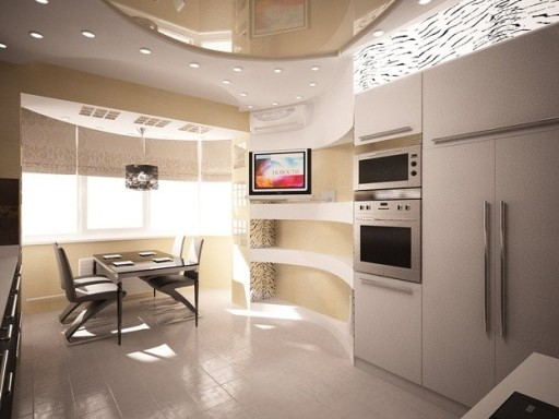 Design bucătărie cu balcon