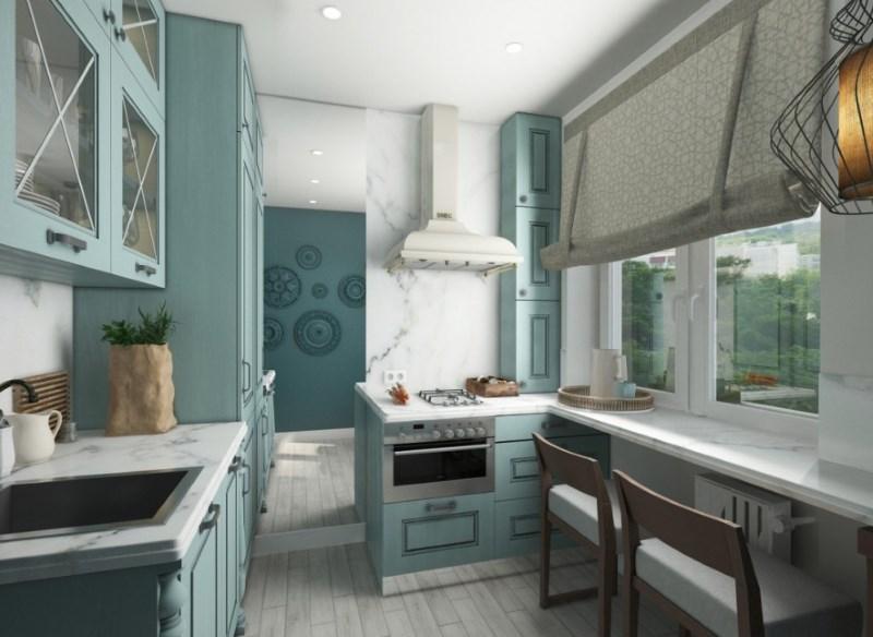 Proiectarea unei mici bucătării cu amenajare paralelă