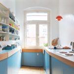 Mobilier personalizat în bucătăria unei case private