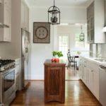 dulap de bucătărie-insulă din lemn