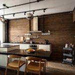 Decorarea pereților din bucătărie laminată