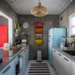 Interior bucătărie în stil industrial