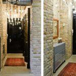 Couloir lumineux dans le style loft