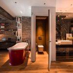Conception de baignoire à la mode de style loft