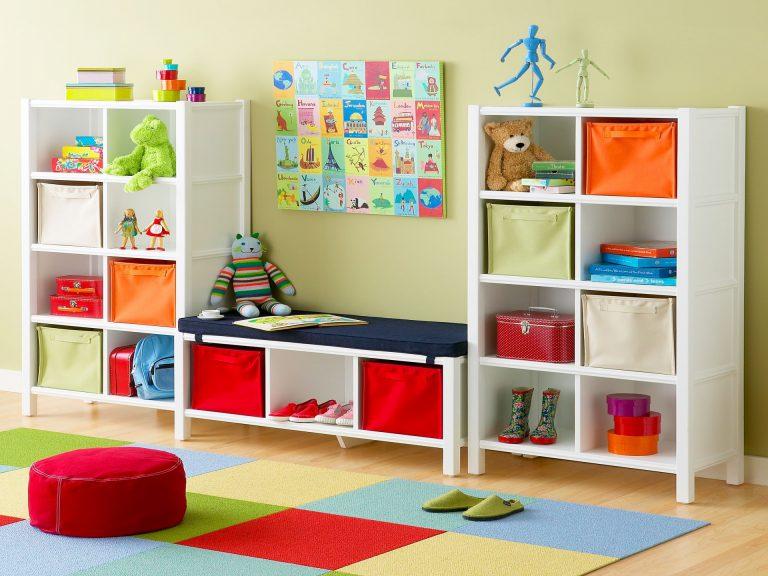 Support de rangement extérieur pour jouets pour enfants