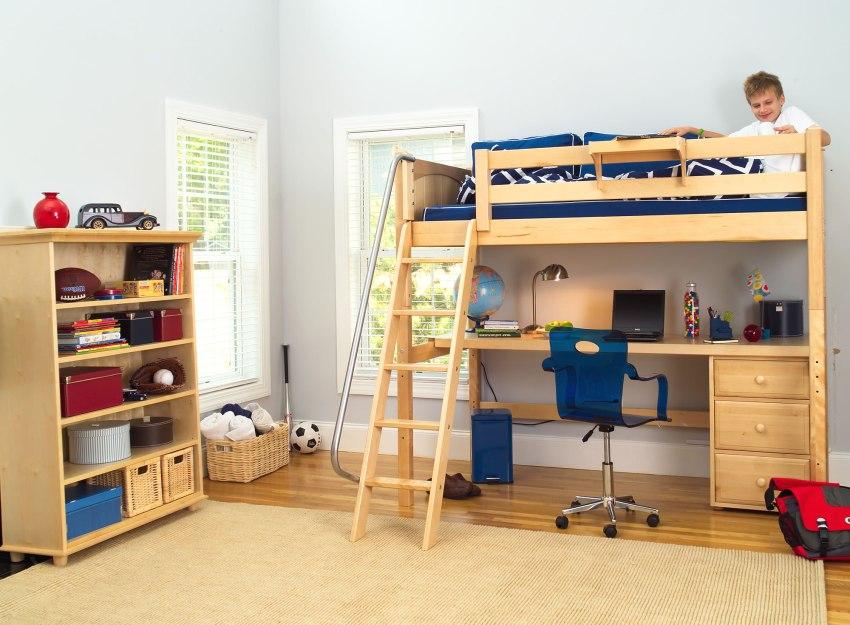 Organisation d'un lieu de cours dans une petite chambre d'enfant
