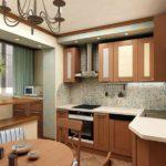 Creșterea dimensiunii bucătăriei datorită balconului